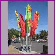 Фирма изготовит флаги,  накидки,  футболки и др.